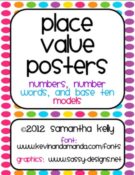 Place Value Posters