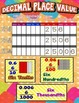 Place Value Posters/Anchor Charts with Cards & Worksheets