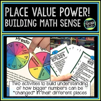 Place Value Power:  2 Activities to Deepen Large Number Un