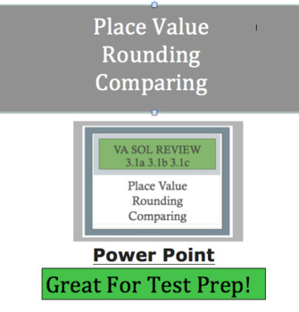 Place Value Powerpoint Increased Rigor  -VA SOL 3.1a-c & C