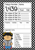Place Value Daily Number Work FREEBIE