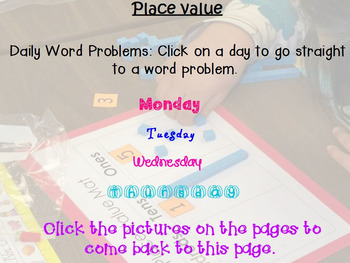 Place Value Problem of the Days