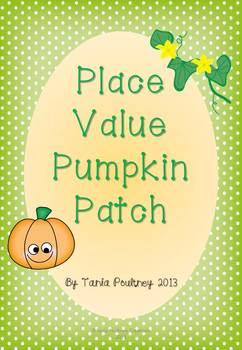 Place Value Pumpkin Patch