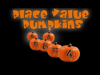 Place Value Pumpkins (FREE Halloween Math Fun for 4th and