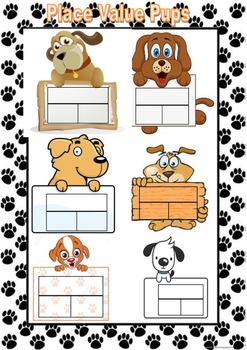 Place Value Pups