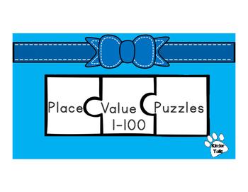 Place Value Puzzle 1-100