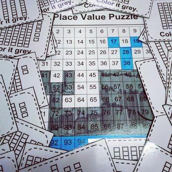 Place Value Puzzle Whale