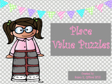 Place Value Puzzles - 2nd Grade CCSS