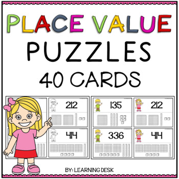 Place Value Puzzles Match Game