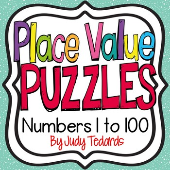 Place Value Puzzles (Numbers 0-100)