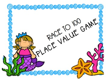 Place Value: Race to 100 game