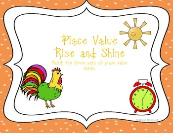 Place Value Rise and Shine