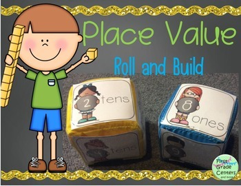 Place Value: Roll and Build {1.NBT.B.2}