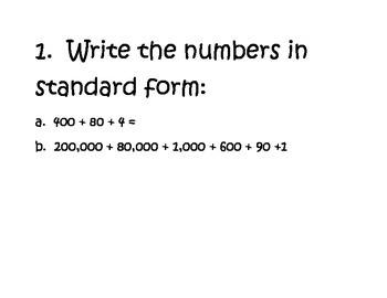 Place Value Rotation