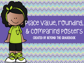Place Value, Rounding, & Comparing Posters
