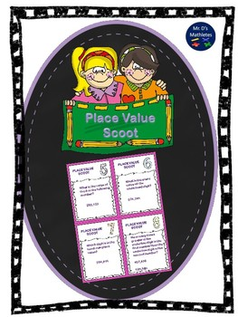 """Place Value """"Task Cards"""""""