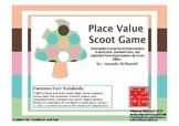 Place Value Scoot Game- Word Form, Expanded Form, & Standard Form