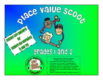 Place Value Scoot for Grades 1 and 2
