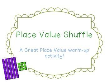 Place Value Shuffle