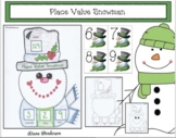 Place Value Snowman Craftivity