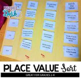Place Value Sort Activity