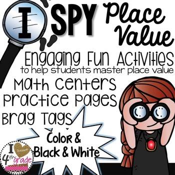 Place Value Spy Theme Unit