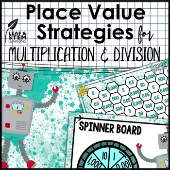 Place Value Strategies for Multiplication Game