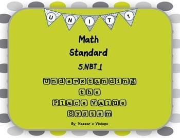 Place Value System 5.NBT.1