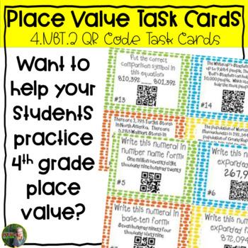 Place Value (4.NBT.2) Task Cards