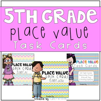 Place Value Task Cards (Bundle)