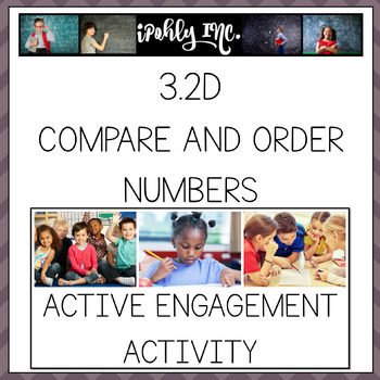 Comparing and Ordering Numbers 3.2D