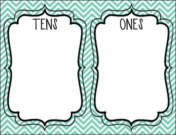 Place Value (Tens and Ones)