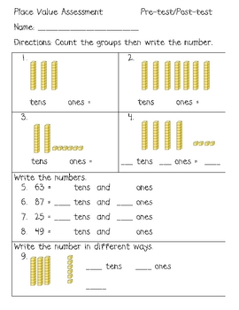 Tens And Ones Place Value - Laptuoso