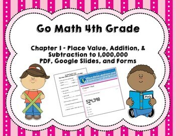 Place Value Test (Go Math Chapter 1 fourth grade)