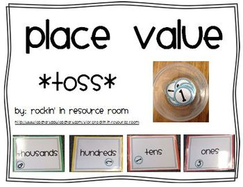 Place Value Toss