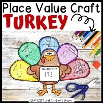 Place Value Turkey Craft