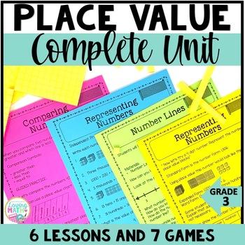 Place Value Unit Common Core | Place Value Lessons, Activi