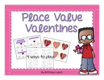 Place Value Valentines