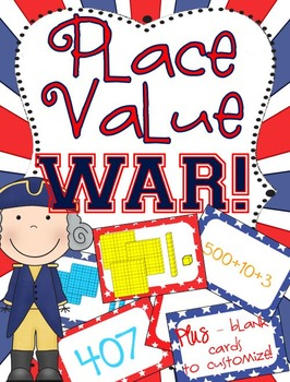 Place Value War - Comparing Base 10, Standard & Expanded F