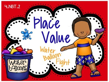 Place Value Game: Water Balloon Fight