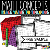 Place Value Worksheet Freebie 3rd Grade TEKS, 4th Grade CCSS
