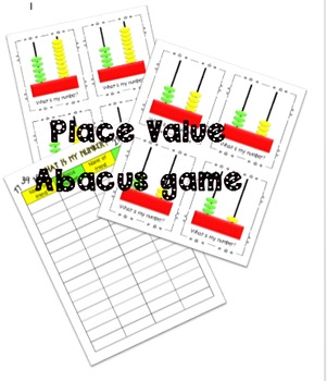 Place Value abacus game
