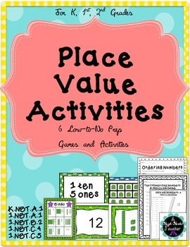 Place Value and Number Sense {Games and Activities}