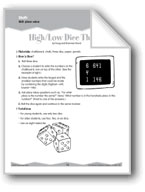 Place Value and Reading Numbers (Ten-Minute Activities)