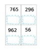 Place Value card set