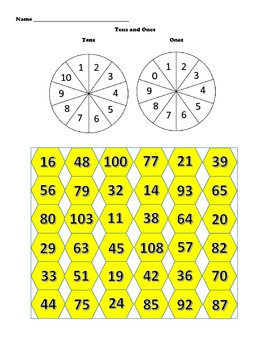 Place Value connect 4