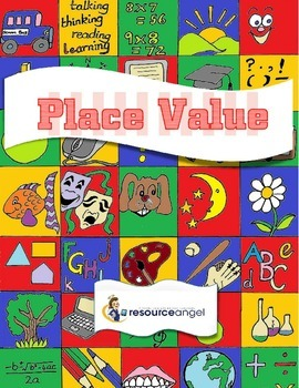 Place Value printables - differentiated for journals: Math