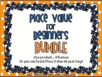 Place Value for Beginners...BUNDLE...Ones, Tens, Hundreds to 199