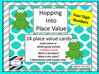 Place Value of 4 Digit Numbers