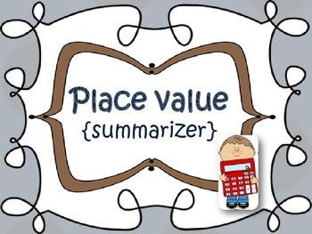 Place Value {summarizer}
